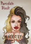 Porcelain Black by ArtEleanor