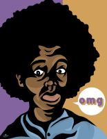 Afro shock and awe by ejmill28