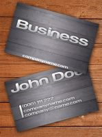 Wooden Business Card by Freshbusinesscards