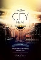 Free City Heat Flyer by styleWish