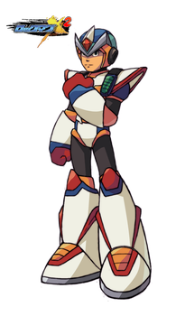 Second Armor by rockman-forte