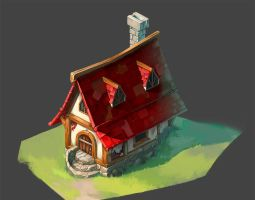 Little house by KatRinch