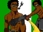 Lex,Champloo style(with just a hint of Bebop) by eternal10