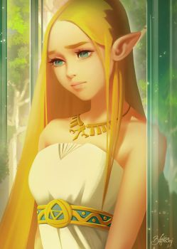 Zelda: Breath of the Wild by Zolaida