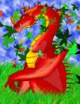 Red Dragon by dragonmissy