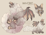 wolfbat adopt auction (CLOSED) by ForestFright