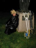 Why do I have the Keyblades by NeverKnowsBest10