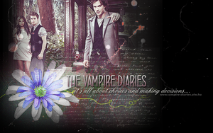 Vampire Diaries Wallpaper by creature-in-night