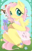 Fluttershy by ParfyWarfy
