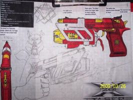 Carmelita Shock Pistol update by coonk9