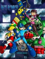 The Blue Bomber Squad by Megaman-Legends-Club