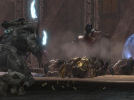 Halo Reach: slaughter by purpledragon104