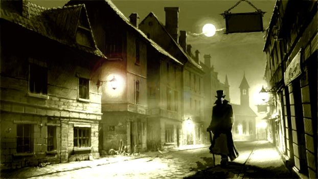 The Hitcher in London 1886 by yereverluvinuncleber