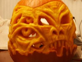 H.P. Lovecraft-O-Lantern 7 by jasonmg1