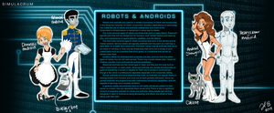 S: Robots and Androids - Sheet by MoodyBeatleGirl