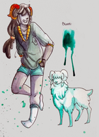Fantroll Adoptable- Light Teal [CLOSED] by TigeyTheMighty