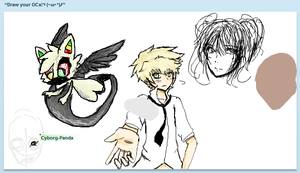 Iscribble With Strangers by ScarletteLetas