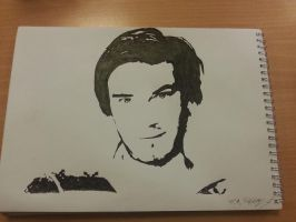 PewDiePie drawing by dantej76