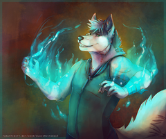 So light em up up up! (Art by Blackmustang13) by Fluskyy