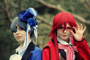 Ciel and Grell by FuckFust