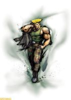 street fighter 4 guile by batguyz