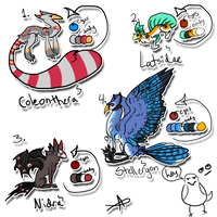 Species / Creatures For Sale - Set 2 - ONLY 1 LEFT by Griffkat
