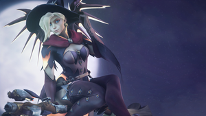 [SFM Overwatch]- Mercy witch by Dafomin