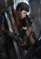 Guts - Berserk by talitapersi