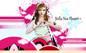 Stella Loves u (wallpaper) by FallenSoldier-X