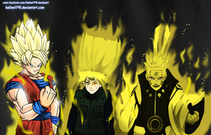 kids.. lets do it ~ DBZ x naruto by hallow1791