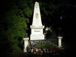 Beethoven's grave by Paul774