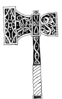 Blacksmith Mjolnir Tat by ice-fire