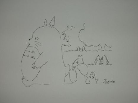 My Neighbor Totoro by Lakishon