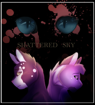 Shattered Sky by AmberbreezeAsh