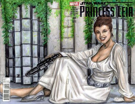 Ceremonial Leia by JRtheMonsterboy