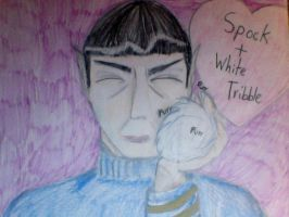 Spock and Tribble Forever by TeslaSong