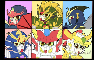 6 Main Musha Alliance by Xzeit