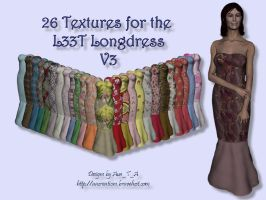 26 Textures for L33T Longdress by aszegedi