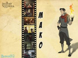 Mako (The Legend of Korra) Wallpaper by Howie62