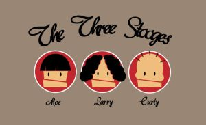 The Three Stooges by memix62