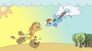 Epic 'Friendly Competition' by MolecularKogwheel