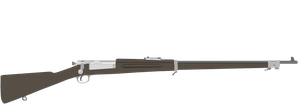 Krag rifle vector by Genbe89