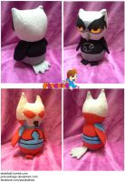 FOR TRADE Karkat and Terezi Owl Plush Owlstuck by PrinceOfRage