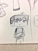MineComic: Jeff doodle by Saber-Cow