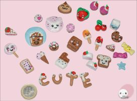 Kawaii Sweets by Jennifer Reid by SwEeTkAwAiii