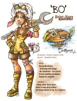 Bo Ramfeather - Contest Char by Pink-Myotis