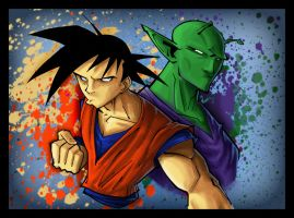 dragon ball z by kidnotorious by JoelAmatGuell