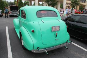 1939 Turquoise Chevrolet by MisterEclipse