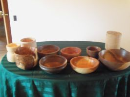 Bowls for display by bleedingpyre