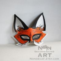Fox half mask by nondecaf